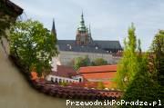 Widok na Katedrę na Hradczanach pw. św.Wita, św.Wacława i św.Wojciecha